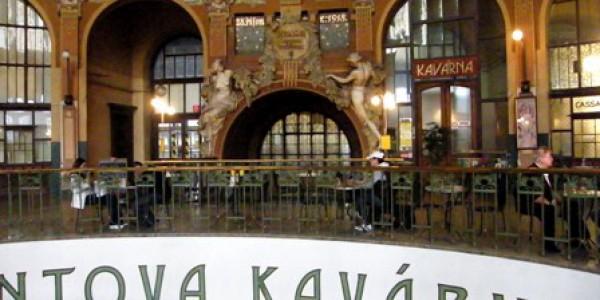 Fantova kavárna na Hlavní nádraží