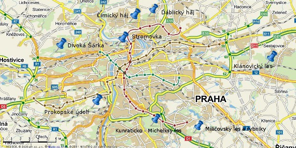 Kam si zajít v Praze zaběhat?